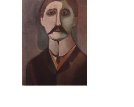 Proust Portrait Richard Lindner